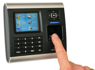 5Finger Print Access Control System